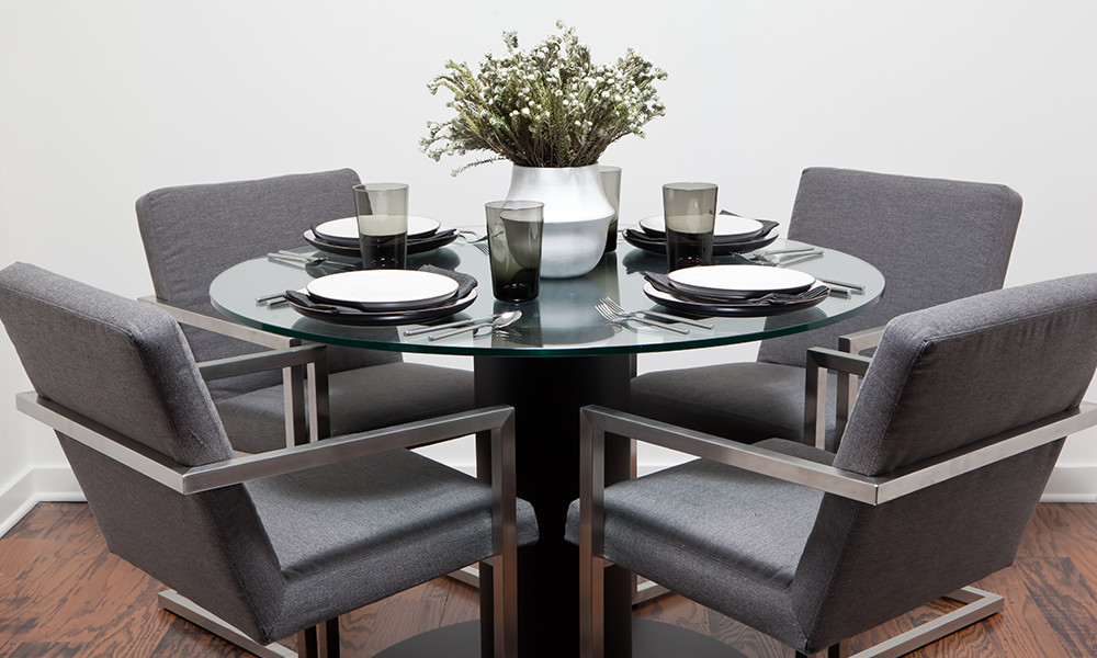 Sleek, Glamorous Dining Room Chairs